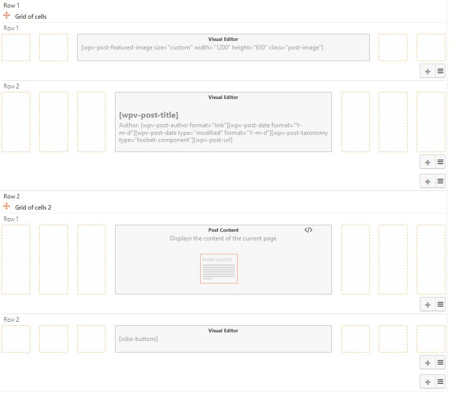 toolset layout schema org